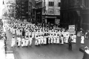 The silent march to protest the East St. Louis riots and lynching on July 28, 1917. Photo via NAACP
